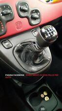 Cuffia leva cambio in vera pelle FIAT NUOVA PANDA (319)  dal 2012