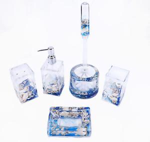 Locco Decor Acrylic Liquid 3D Floating Motion Bathroom Vanity Accessory