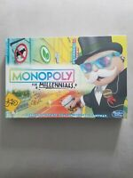 MONOPOLY for Millennials Edition Board Game by Hasbro New Sealed