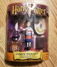 Ginny Weasley Harry Potter Magical Minis Collection Figure Stamp Mattel 2001 Nib