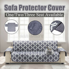 3 Seat Waterproof Pet Dog Quited Sofa Couch Cover Furniture Protector  -.
