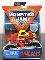 SPIN MASTER Monster Jam TIME FLYS Arena Favorites 2019 Truck NEW 1:64 Scale