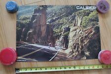 Caliber Downhill Longboard 2-Sided Skateboard Trucks Poster 12x18in. Poster