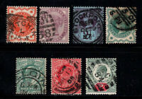 Großbritannien 1881-1902 Gestempelt 100% Königin Victoria, Edward VII.