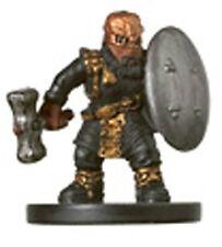 D&D MINIATURES GOLD DWARF SOLDIER 5/60 C UNDERDARK
