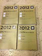 2012 Chevrolet Chevy COLORADO & GMC CANYON Service Shop Repair Manual Set NEW