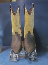 Genuine Women's Montana Bellini Classic Western Boot. Double Stitched Leather 6m