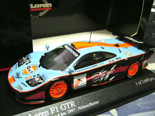 McLaren F1 GTR BMW 1997 #2 Nielsen Bscher Nürb. Day off Gulf Minichamps . 1:43