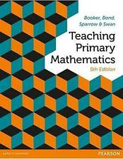 NEW - FAST to AUS - Teaching Primary Mathematics by Booker, Bond, Sparrow (5 Ed)