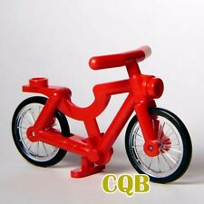 NEW LEGO - Vehicle - Red Bicycle - 1 Piece wheel from Set 9389 Bike