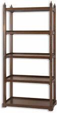 Medium Wood Tone Bookcases, Shelving and Storage