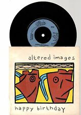 """ALTERED IMAGES - HAPPY BIRTHDAY (7"""" single)"""