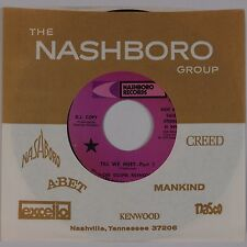 THE GOSPEL KEYNOTES: Til We Meet NASHBORO DJ Promo Black Gospel Soul 45 HEAR