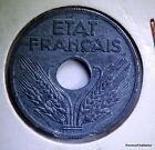 FRANCE 10 centimes ETAT FRANÇAIS 1942 grand module ZINC AC427