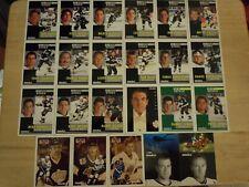 1991-92 Pinnacle French LOS ANGELES KINGS Team Set - 23 Cards - WAYNE GRETZKY