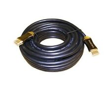 15M HDMI to HDMI Gold Plated Cable Lead Ethernet v2.0 High Speed 3D 2160P UK