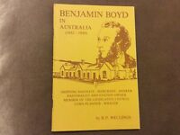 Benjamin Boyd in Australia - 1842-1849 - H.P. Wellings