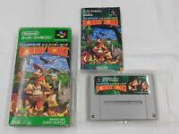 X4728 Nintendo Super Famicom Super Donkey Kong 1 Japan SFC SNES w/box