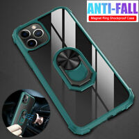 Magnetic Ring Stand Hybrid Armor Case Cover for iPhone 11 Pro Max XR XS X 6s 7 8