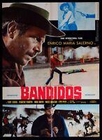 S11 Manifesto Bandidos Enrico Maria Salerno Jenkins Dillman Spaghetti Western