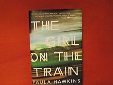 SIGNED IN PERSON PAULA HAWKINS The Girl on the Train 2015 HC EMILY BLUNT MOVIE