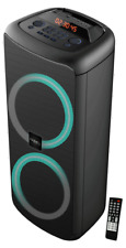 IBIZA RAINBOW1000 HIGH POWER SOUNDBOX 1000W Bluetooth USB MicroSD Fernbedienung