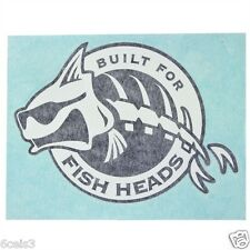 POLAR KRAFT JOHN BOAT,BASS BOAT,RV 5IN. X 7IN.WINDOW DECAL BUILT FOR  FISH HEADS