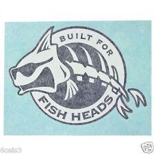POLAR KRAFT JOHN BOAT,BASS BOAT,RV 5IN. X 7IN.WINDOW DECAL BUILT FOR  FISH HEADS
