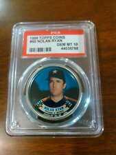1988 Topps Coins #50 Nolan Ryan Astros graded PSA 10 Gem Mint