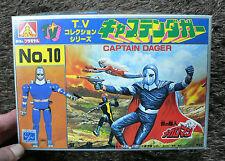 Megaloman CAPTAIN DAGER MODEL KIT AOSHIMA JAPAN MEGAROMAN