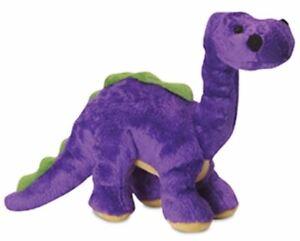 Go Dog Brontosaurus Plush Dog Toy ChewGuard GoDog Dinosaur Comfort Toy Med/Small