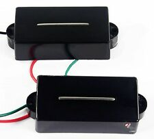 Bill Lawrence EB-60PB Blade Precision Bass P-Bass Pickup Set Made In USA Black