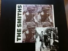 LOT THE SMITHS MEAT IS MURDER  LP + LIVE IN MANCHESTER EP VINYL