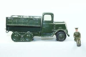 W Britain's  Caterpiller Type Covered Army Tender #1343 Military Truck