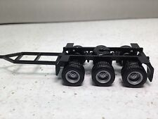 HO 1/87 Promotex/Herpa # 5399 Triple  Axle Converter Truck Dolly w/long drawbar