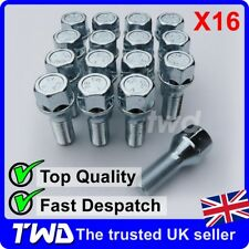 16x ALLOY WHEEL BOLTS FOR VOLVO XC70 V70 (2000-16) M14x1.5 STUD LUG NUTS [Z40]