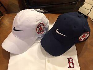 RARE BOSTON RED SOX   2 RED SOXS hats DOUBLE Sox's logo
