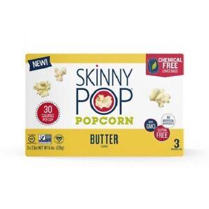 Skinny Pop Microwave Popcorn Butter