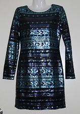 Womens size M (8) gorgeous sequined cocktail short dress made by SHEIN