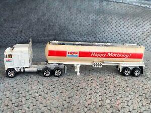 Road Champs Kenworth Aerodyne Exxon Tractor Trailer Big Rigs Semi Tanker Vintage