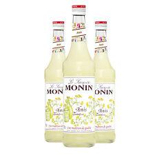 Monin Sirup Anis, 0,7L, 3er Pack