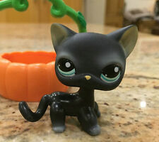 Black Cat Blue Eyes Littlest Pet Shop LPS Animals #994 Boy Girl Toys Xmas