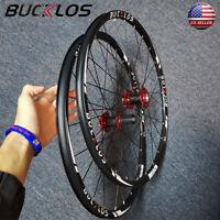 BUCKLOS Mountain Wheelset 26/ 27.5/29 inch Carbon Hub Disc Brake Bicycle Wheels