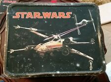 Vintage 1977 Star Wars Lunchbox No Thermos X-Wing Fighter