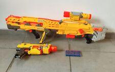 Lot de 2 Nerf Hasbro - LONGSHOT CS-6 + Barricade RV10 *** Tireur d'élite ***