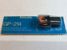 Original Philips gp214 / 5 reemplazable plug-in Cartucho Stylus Tocadiscos parte