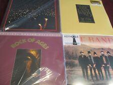 THE BAND LIVE LAST WALTZ MFSL ROCK OF AGES  & FLOOD + CARTER BARRON AMP 4 LP SET