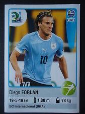 PANINI 183 Diego Forlan Uruguay confed cup 2013 Brasile
