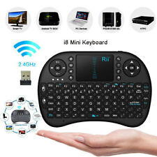Mini i8 2.4G Wireless Keyboard Rii Air Mouse Remote Control Android TV Box PC UK
