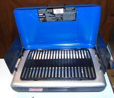 2004 Coleman Propane Table Top Grill #9924 Series Blue NEW NO BOX W/INSTRUCTIONS